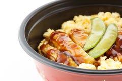 Roasted teriyaki chicken Stock Photo