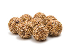 Roasted thala balls. On white background Stock Photography