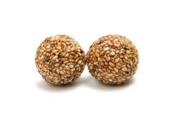 Roasted thala balls  Stock Image