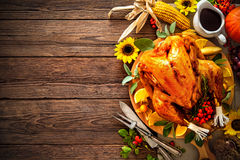 Roasted Thanksgiving Turkey Royalty Free Stock Photography