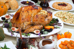 Roasted Thanksgiving Turkey Stock Images