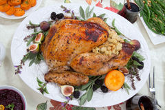 Roasted Thanksgiving Turkey Royalty Free Stock Image