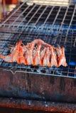 Roasted tiger prawn Royalty Free Stock Photo