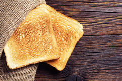 Roasted toast bread Royalty Free Stock Photos