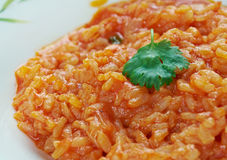 Roasted Tomato Risotto Royalty Free Stock Photos