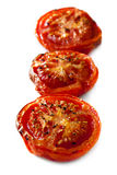 Roasted Tomatoes Isolated Royalty Free Stock Photos