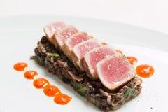 Roasted tuna Stock Image