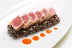 Roasted tuna Stock Images