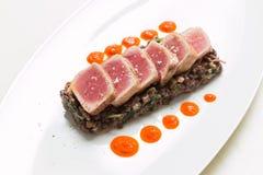 Roasted tuna Stock Photos