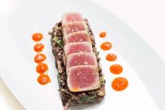 Roasted tuna Royalty Free Stock Photography