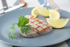 Roasted tuna steak Royalty Free Stock Photos