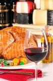 Roasted turkey Stock Image