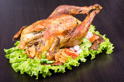 Roasted turkey Royalty Free Stock Image