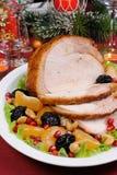 Roasted turkey breast Stock Photography