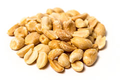 Roasted unsalted peanuts  Royalty Free Stock Photography