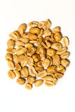 Roasted unsalted peanuts  Royalty Free Stock Images