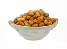 Roasted Unsalted Soy Nuts Royalty Free Stock Photo