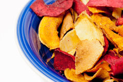 Roasted Vegetable Chips Royalty Free Stock Photo