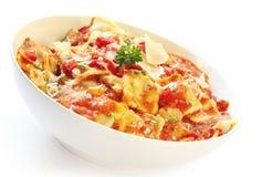 Roasted Vegetable Ravioli Stock Image