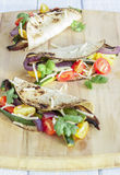 Roasted Vegetable Tacos Royalty Free Stock Photos