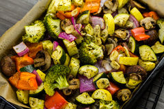Roasted vegetables Royalty Free Stock Photos