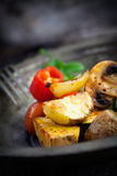 Roasted vegetables Royalty Free Stock Photography