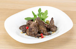 Roasted venison Royalty Free Stock Images