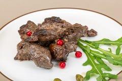 Roasted venison Stock Image