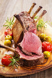 Roasted Venison Rack Stock Image