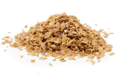 Roasted wheat bran Royalty Free Stock Images