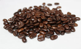 Roasted Whole Bean Coffee Royalty Free Stock Image