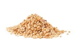 Roasted zerquetschte Erdnüsse Lizenzfreies Stockbild
