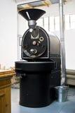Roaster comercial do cilindro do café Fotografia de Stock Royalty Free
