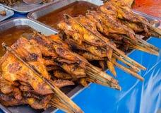 Roasting chicken Stock Image