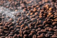 Roasting coffe Stock Photo