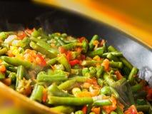 Roasting vegetable mix Royalty Free Stock Photography