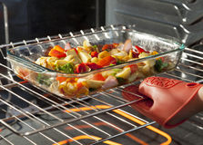 Roasting Vegetables Stock Images