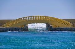 Roatan桥梁 库存图片