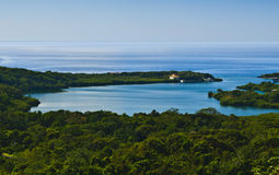 Roatan on the Caribbean Sea, Honduras Royalty Free Stock Photo