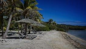 Roatan Hondures strand Arkivbild