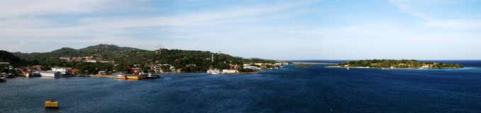 Roatan Island Royalty Free Stock Photos