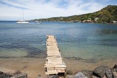 Roatan wyspy zatoka Obrazy Stock