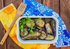 Roated aubergine Zdjęcie Royalty Free