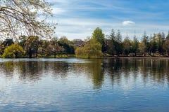 Roath park, Cardiff, Wales, UK Stock Photography