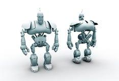 robô 3d Fotos de Stock