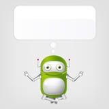 Robô bonito Imagens de Stock
