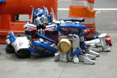 Robô caído fotos de stock royalty free