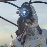 robô 3d Imagens de Stock Royalty Free