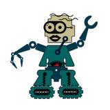 Robô da dança ilustração stock
