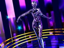 Robô da dança Fotografia de Stock Royalty Free